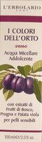 Acqua micellare addolcente, i colori dell'orto - Produit - it