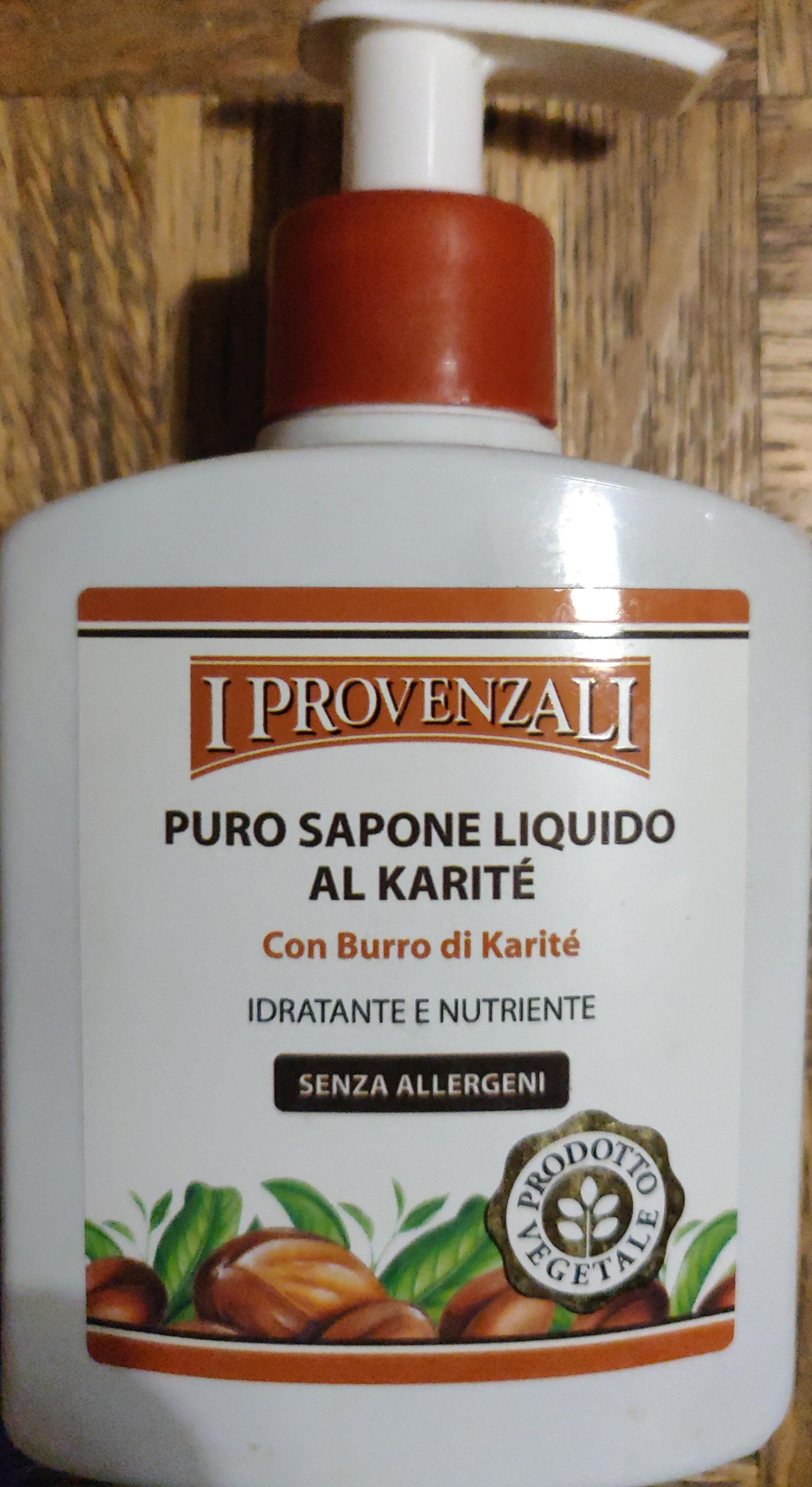Puro sapone liquido al karité - Produit - it
