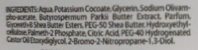 Puro sapone liquido al karité - Ingrédients - it