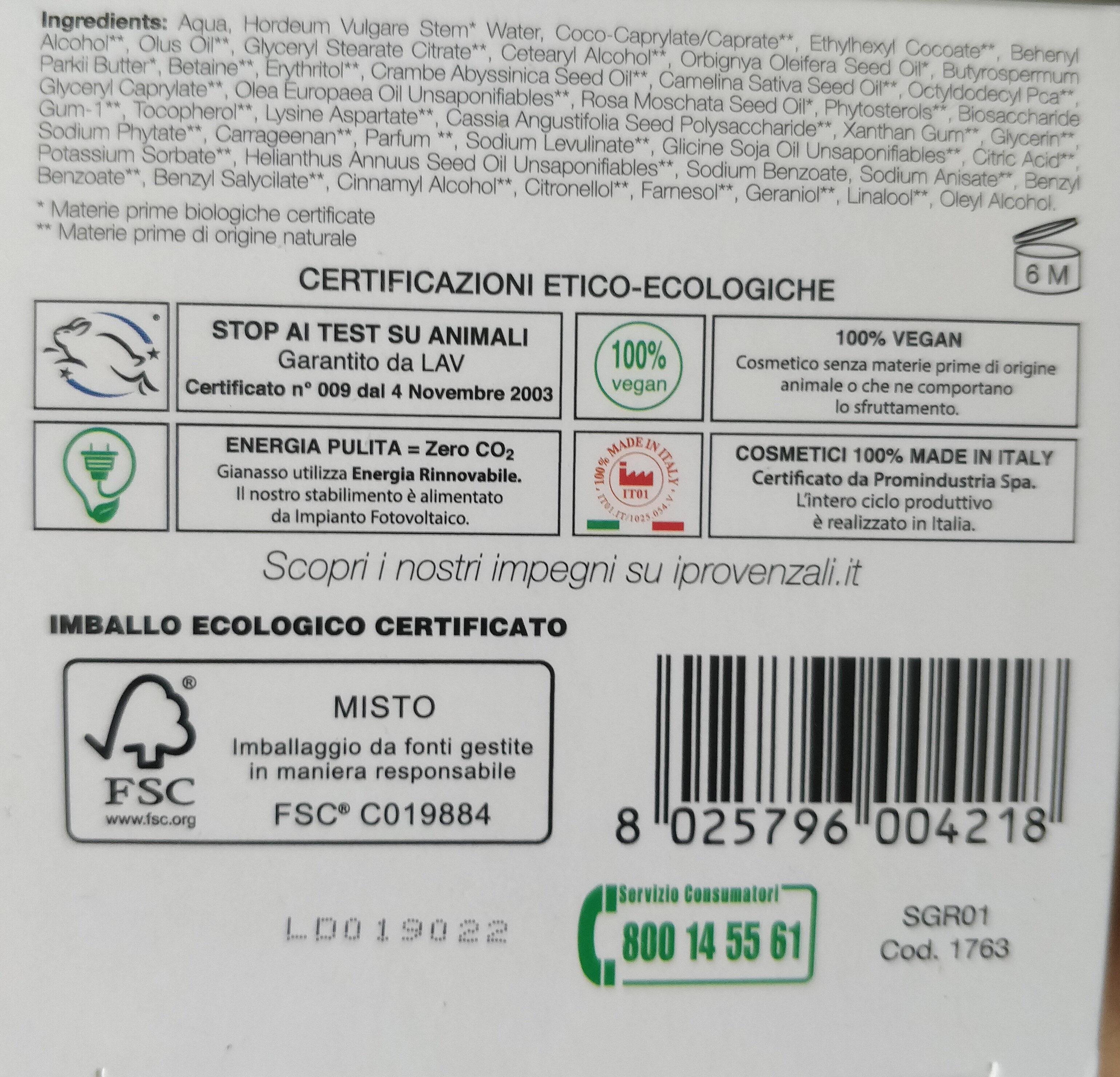 Crema viso 24 h biologica nutriente - Product - en