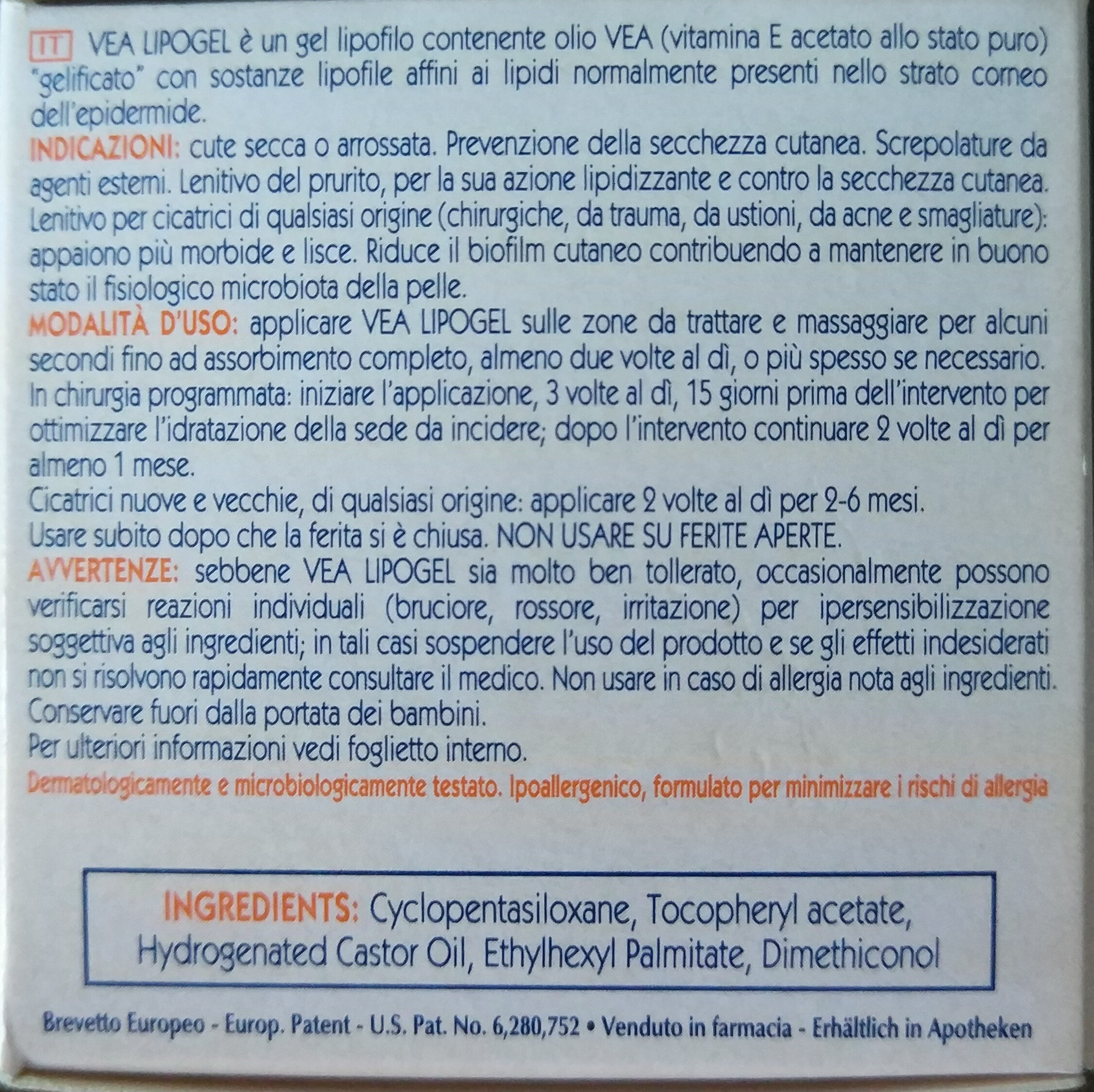 Vea Lipogel - Product - en