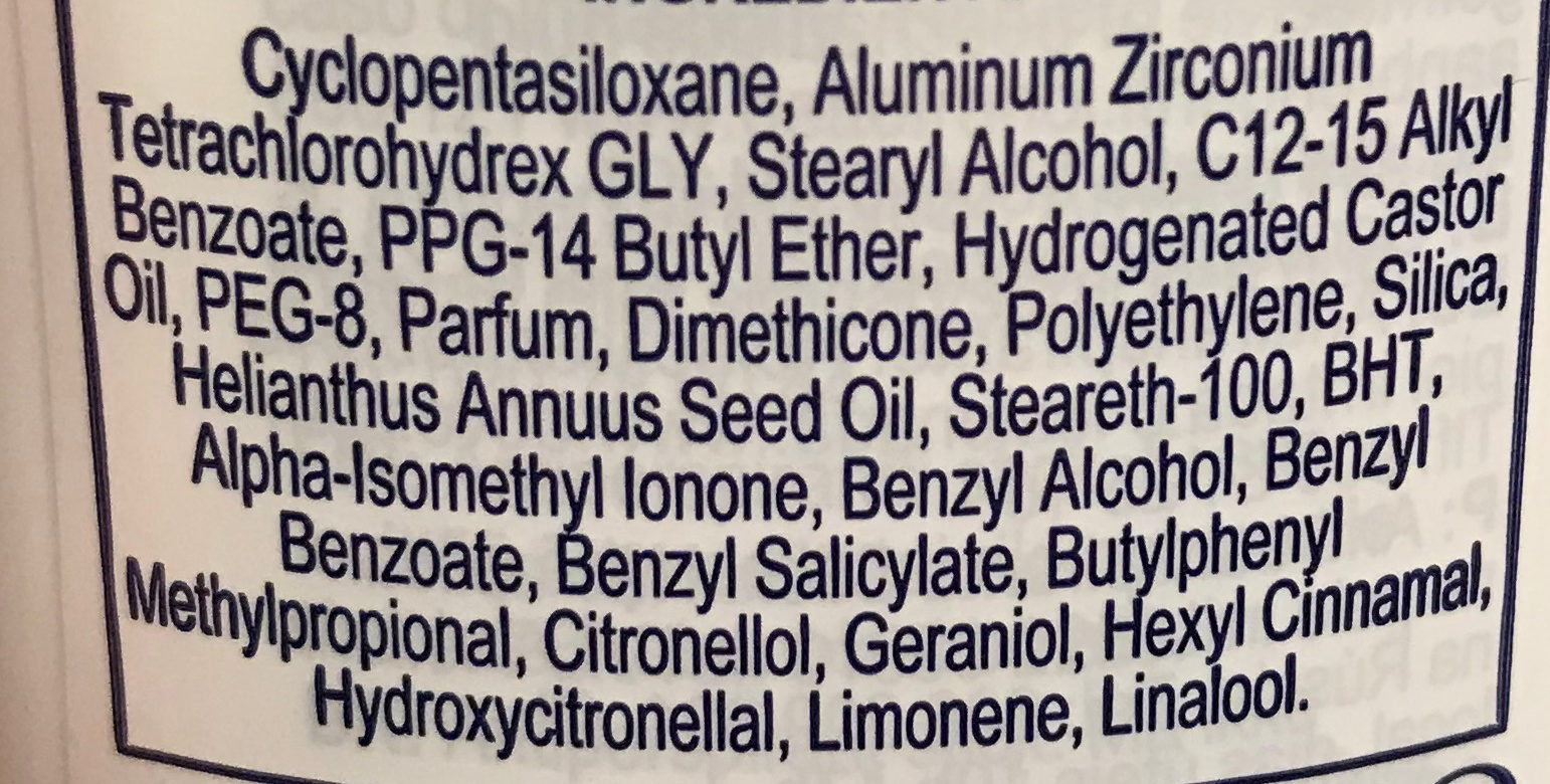 Original 48H - Ingredients - fr