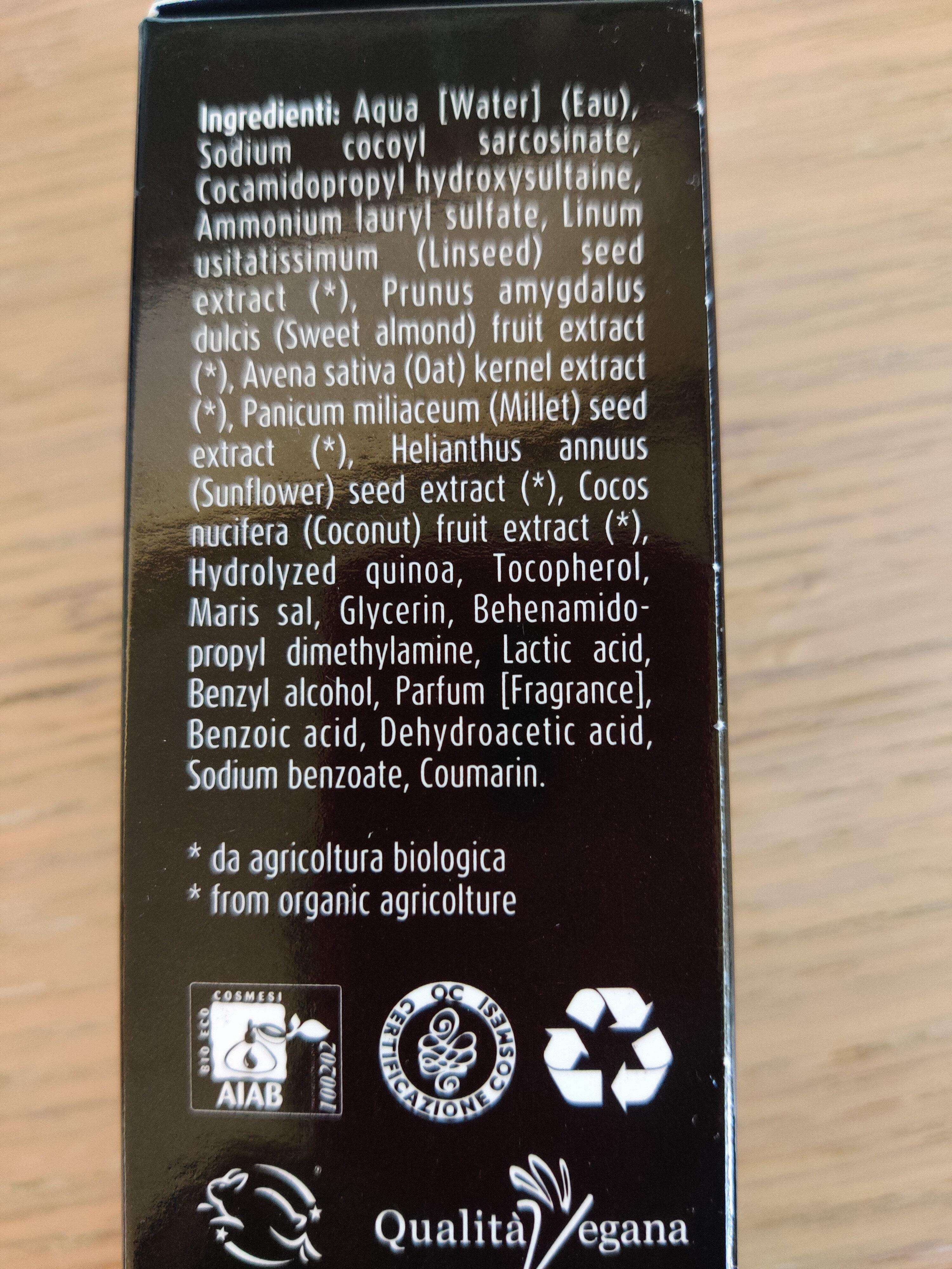 shampoo capelli ricci - Ingredients