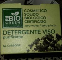 detergente viso al carbone ph bio green - Produit - it