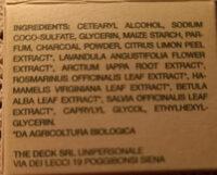 detergente viso al carbone ph bio green - Ingredients - it