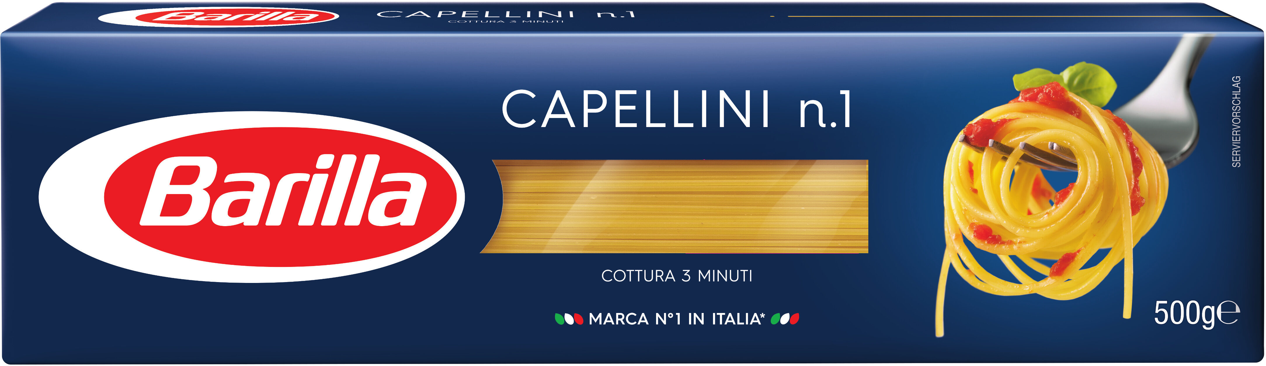 Pâtes Capellini - Product - fr