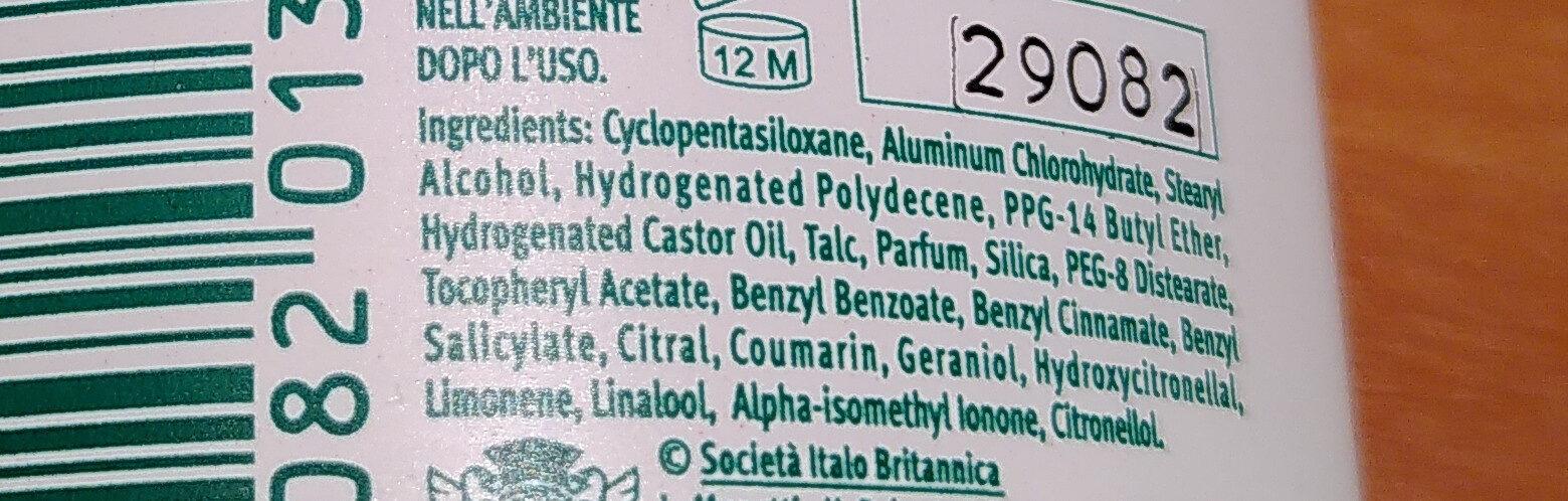 BoroTalco original - Ingredients - fr