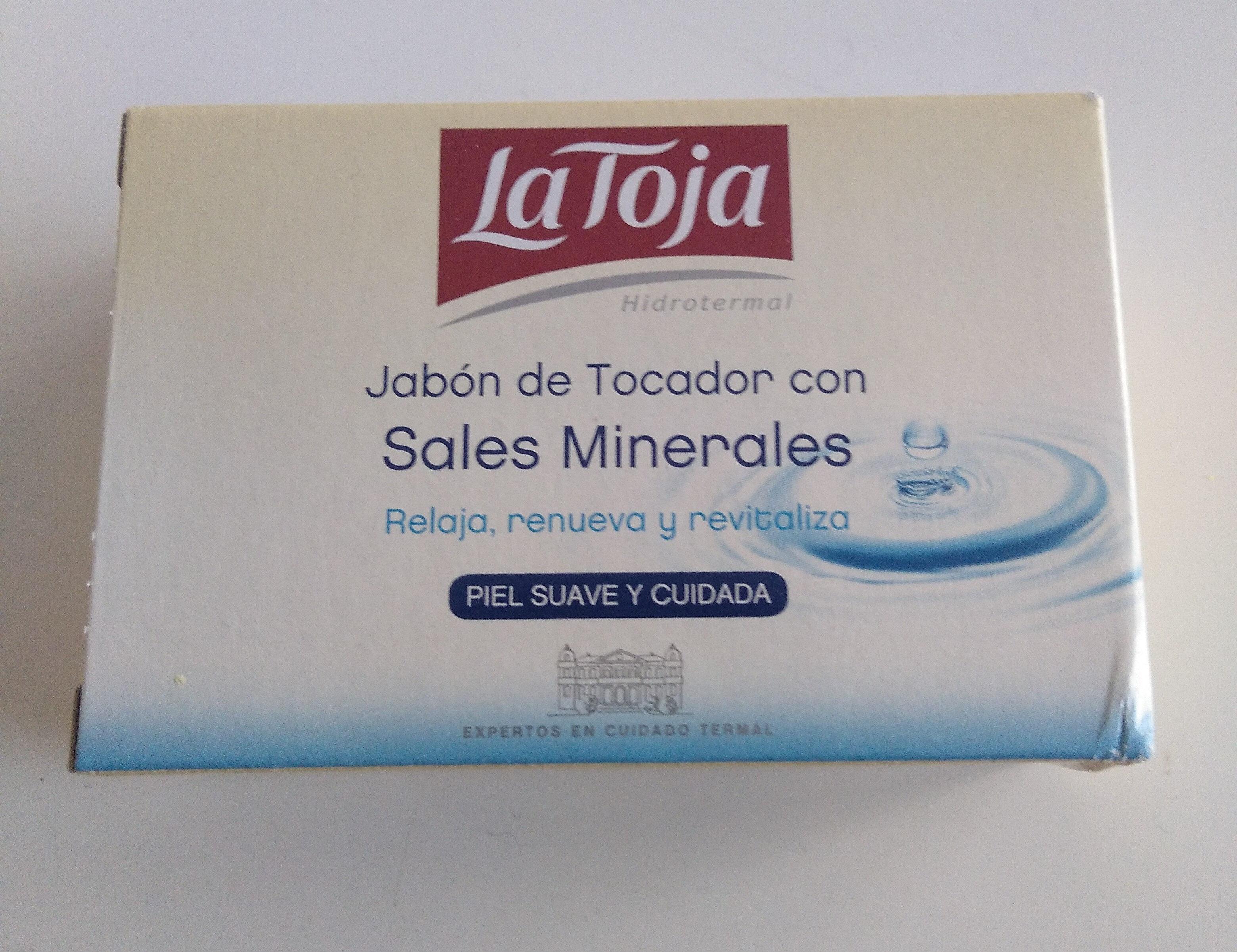 la Toja jabón de tocador con sales minerales - Product