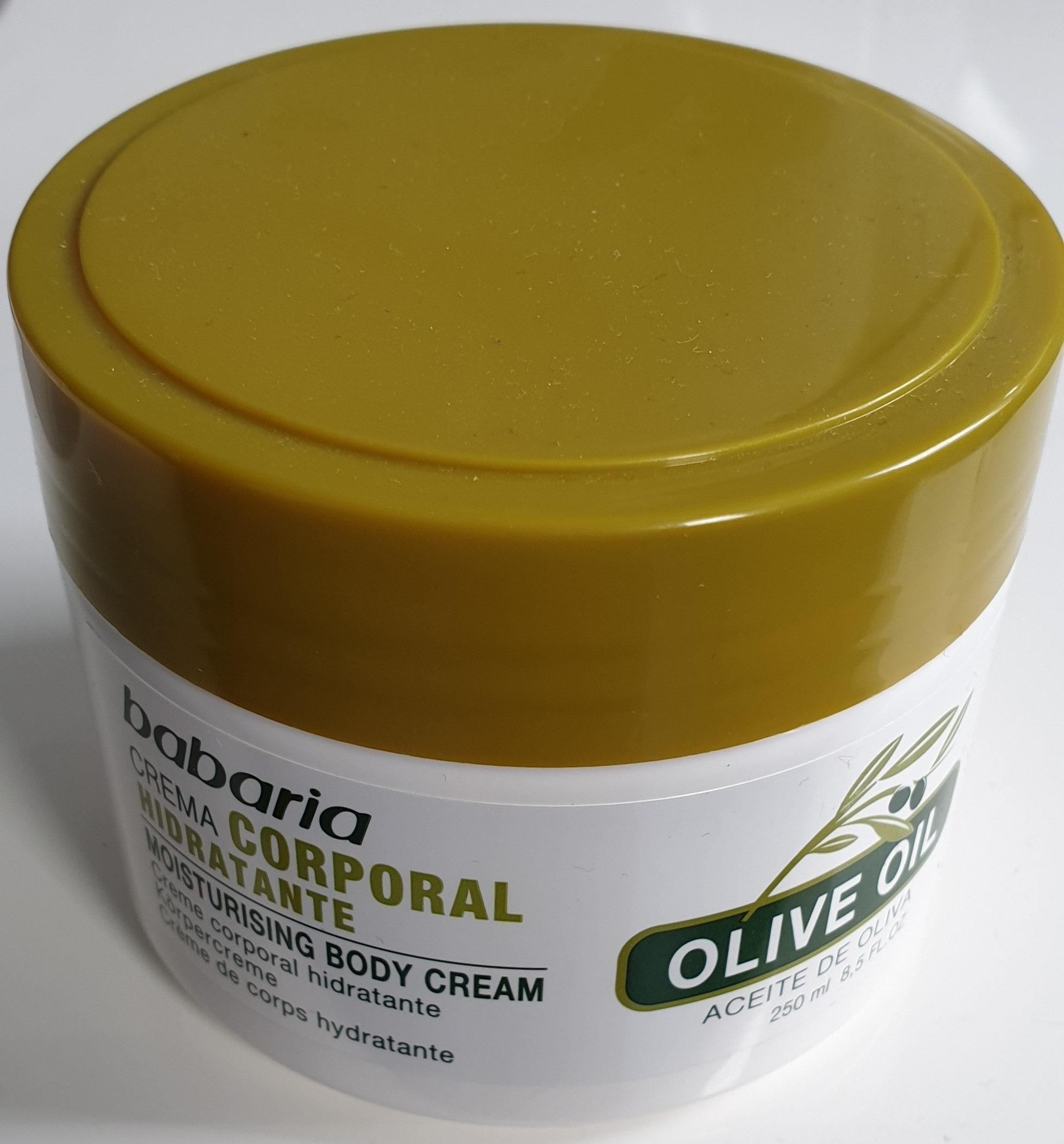 Olive oil moisturizing body cream - Product - de