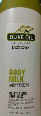 Olive oil body milk - Product - en