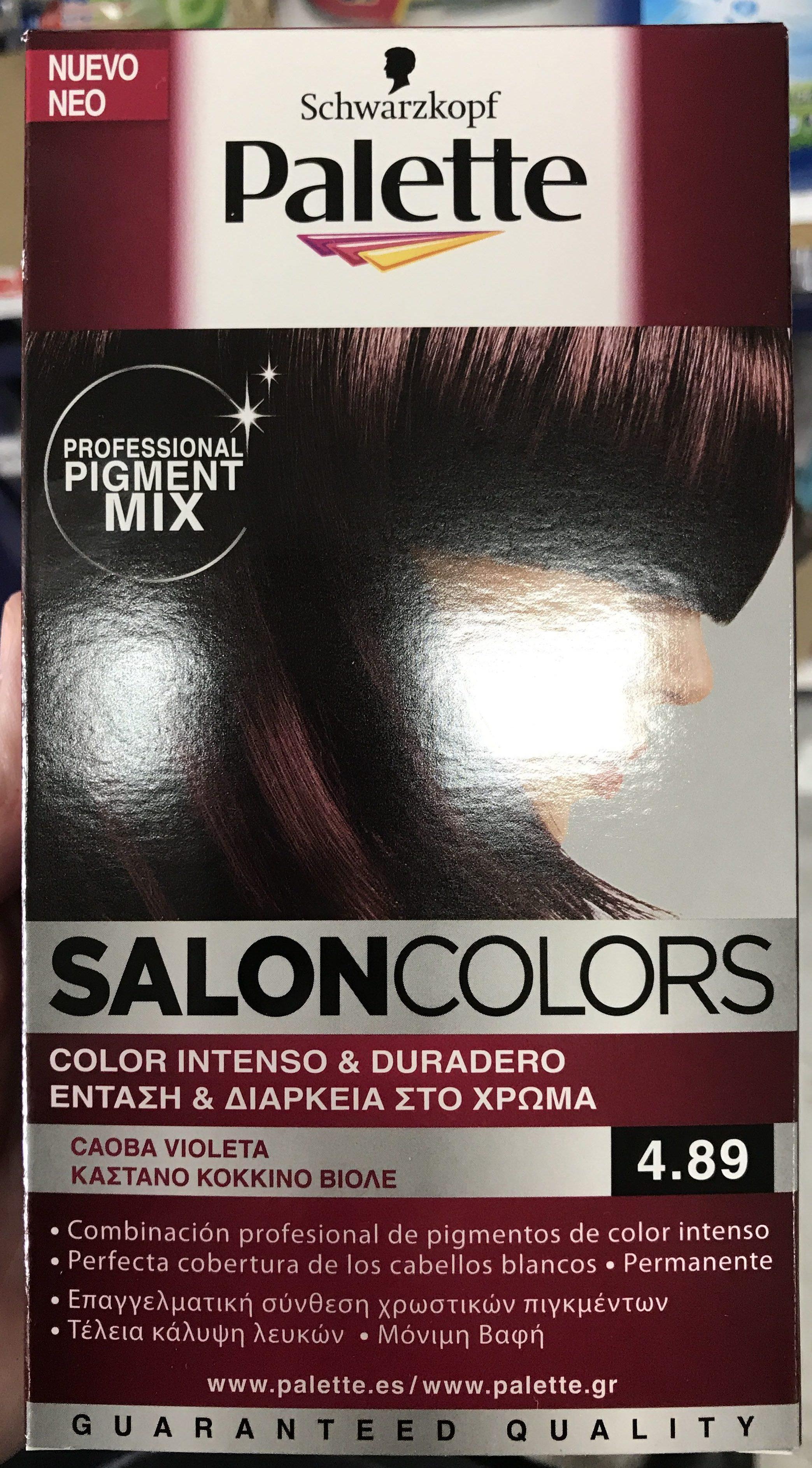 Palette Salon Colors 4.89 - Produit - fr