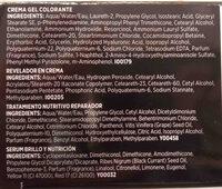 tinte negro llongueras - Ingredients - en