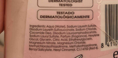 Gel intimo - Ingredients - en