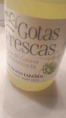 Gotas frescas - Ingredients - en