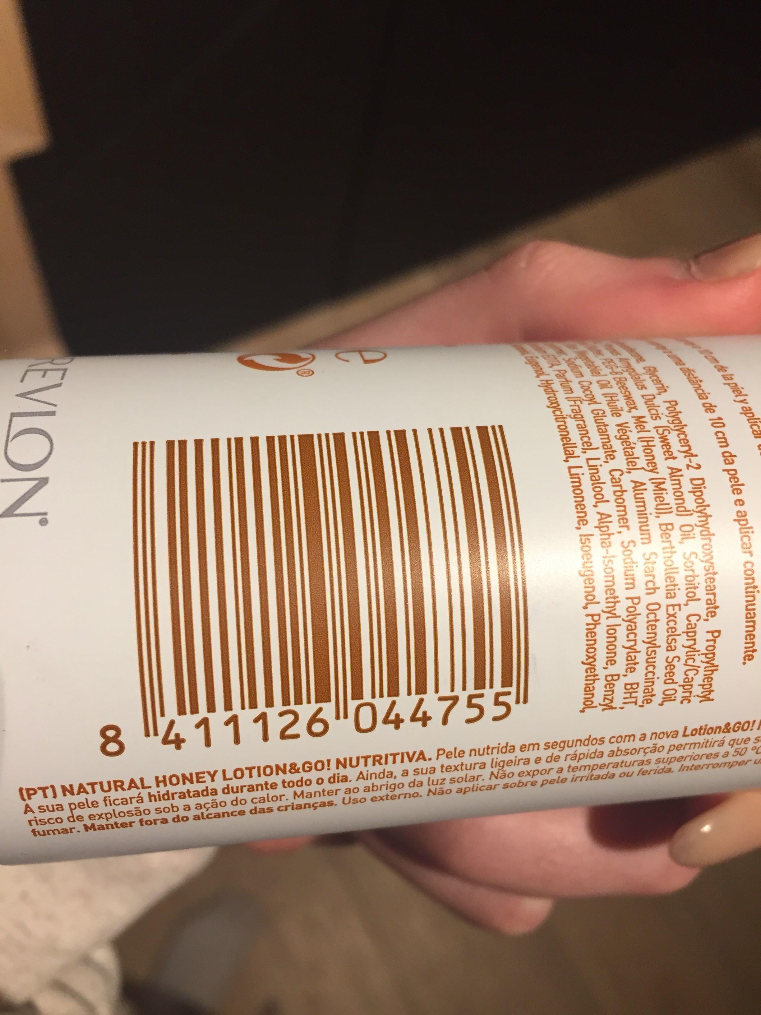Natural honey - Produit