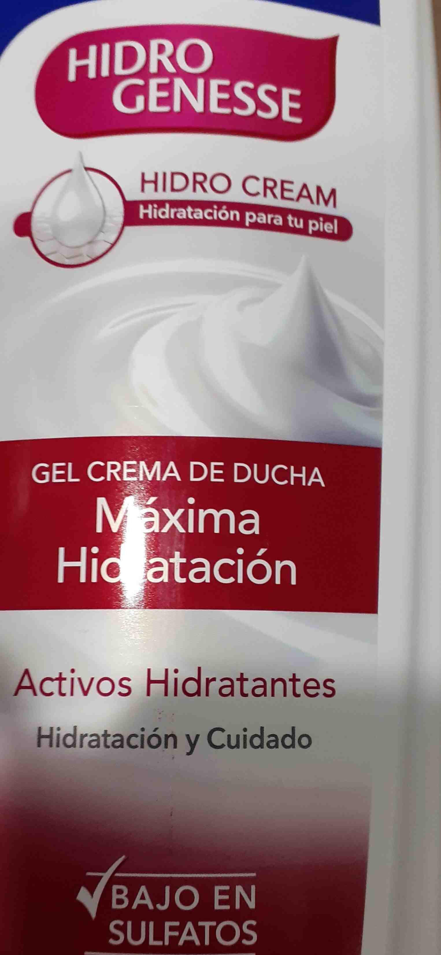 gel hidro genesse - Product - en