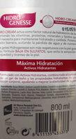 gel hidro genesse - Ingredients - en
