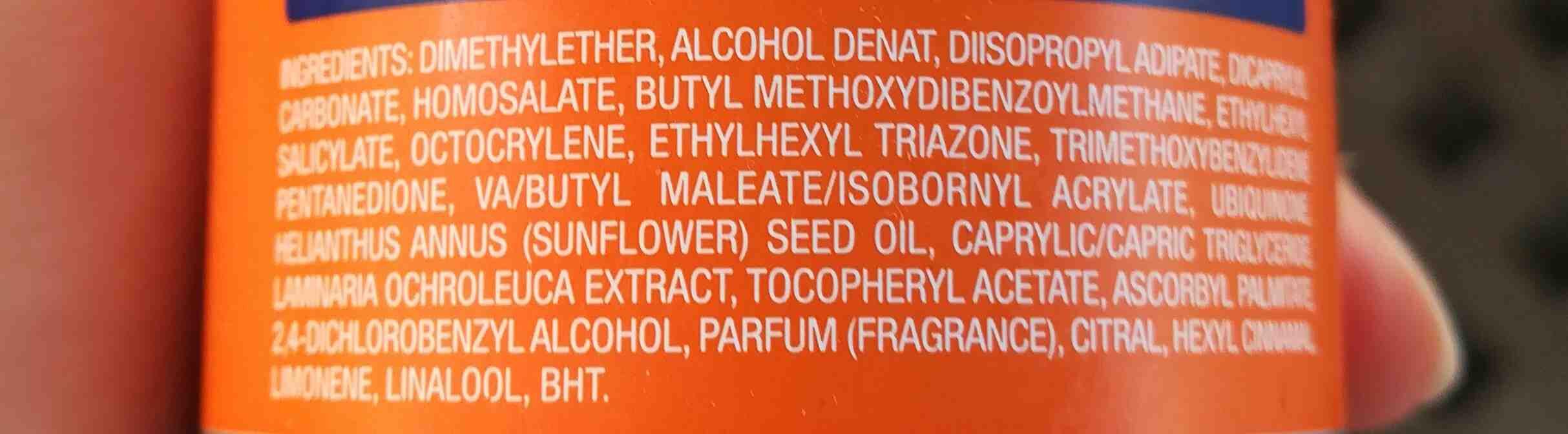 Bruma protectora - Ingredients - en
