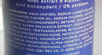 Amor besos y sal gel exfoliante - Ingrédients - en