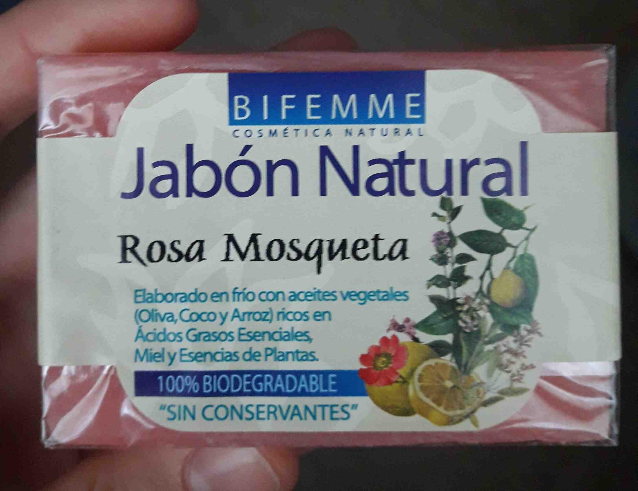 Jabon natural rosa mosqueta - Product - en