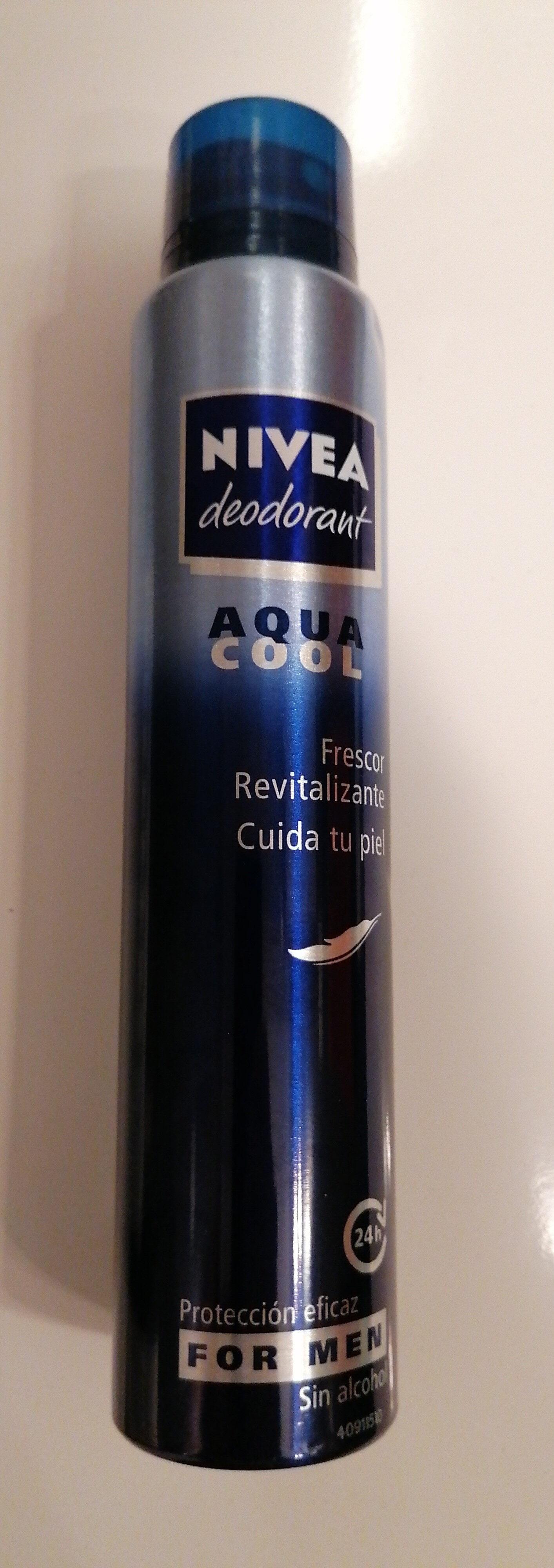 Nivea deodorant Aqua Cool For Men - Product - es