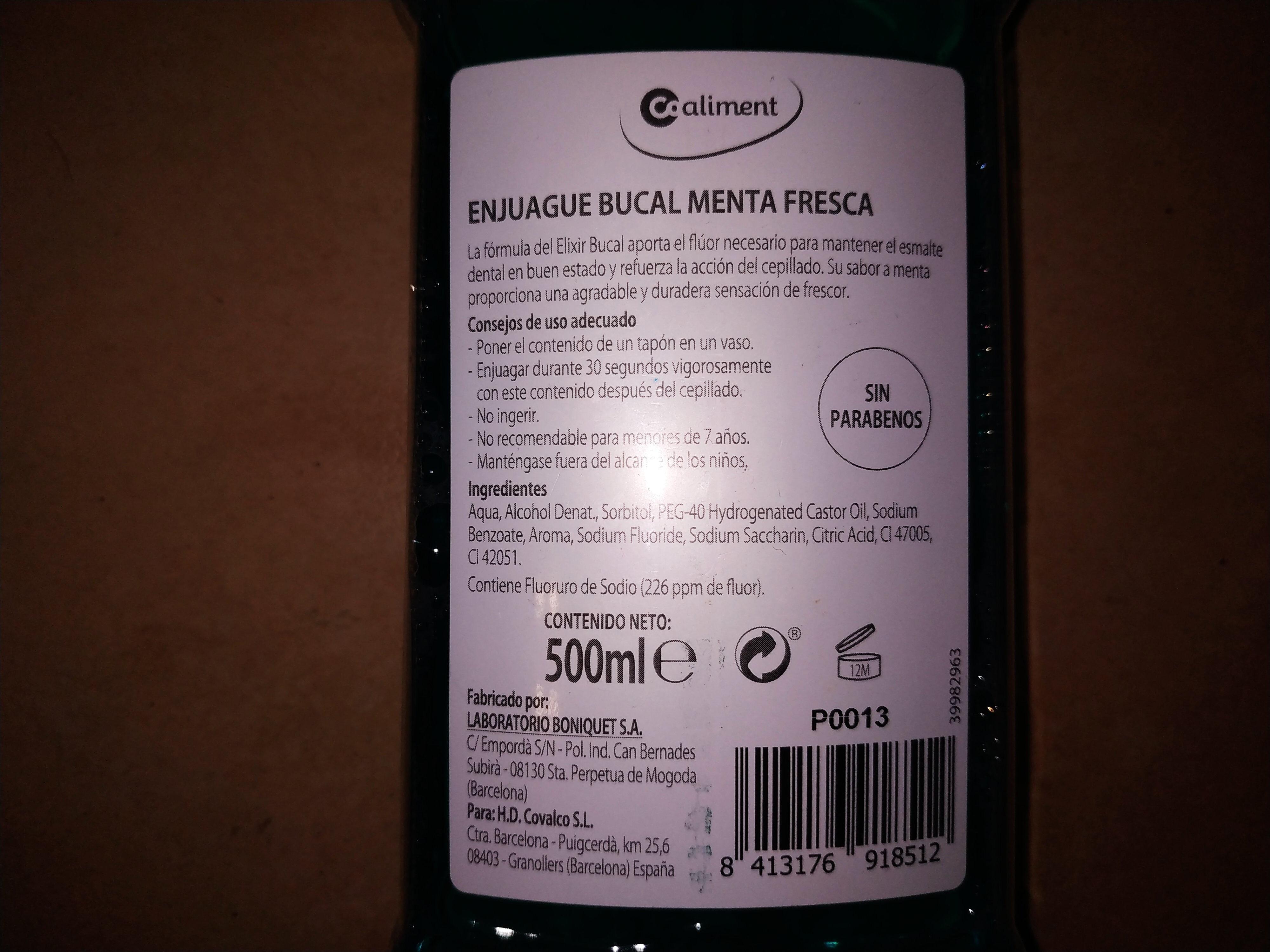 enjuague bucal - Product - es