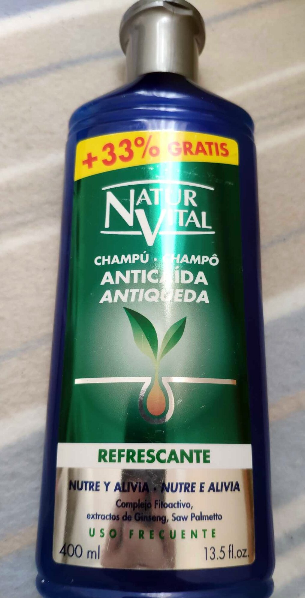 Champú anticaída Refrescante - Product - en