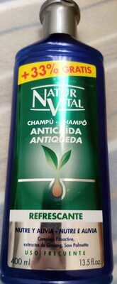 Champú anticaída Refrescante - Produit - es