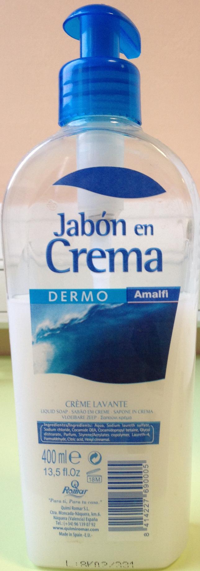 Crème lavante Jabon en Crema - Produit - fr