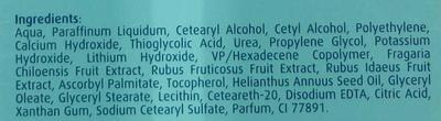 Crème dépilatoire douche aux fruits des bois - Ingredients - fr
