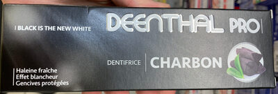 Dentifrice Charbon - Product - fr