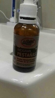 ricigran pestanas - Ingredients - en