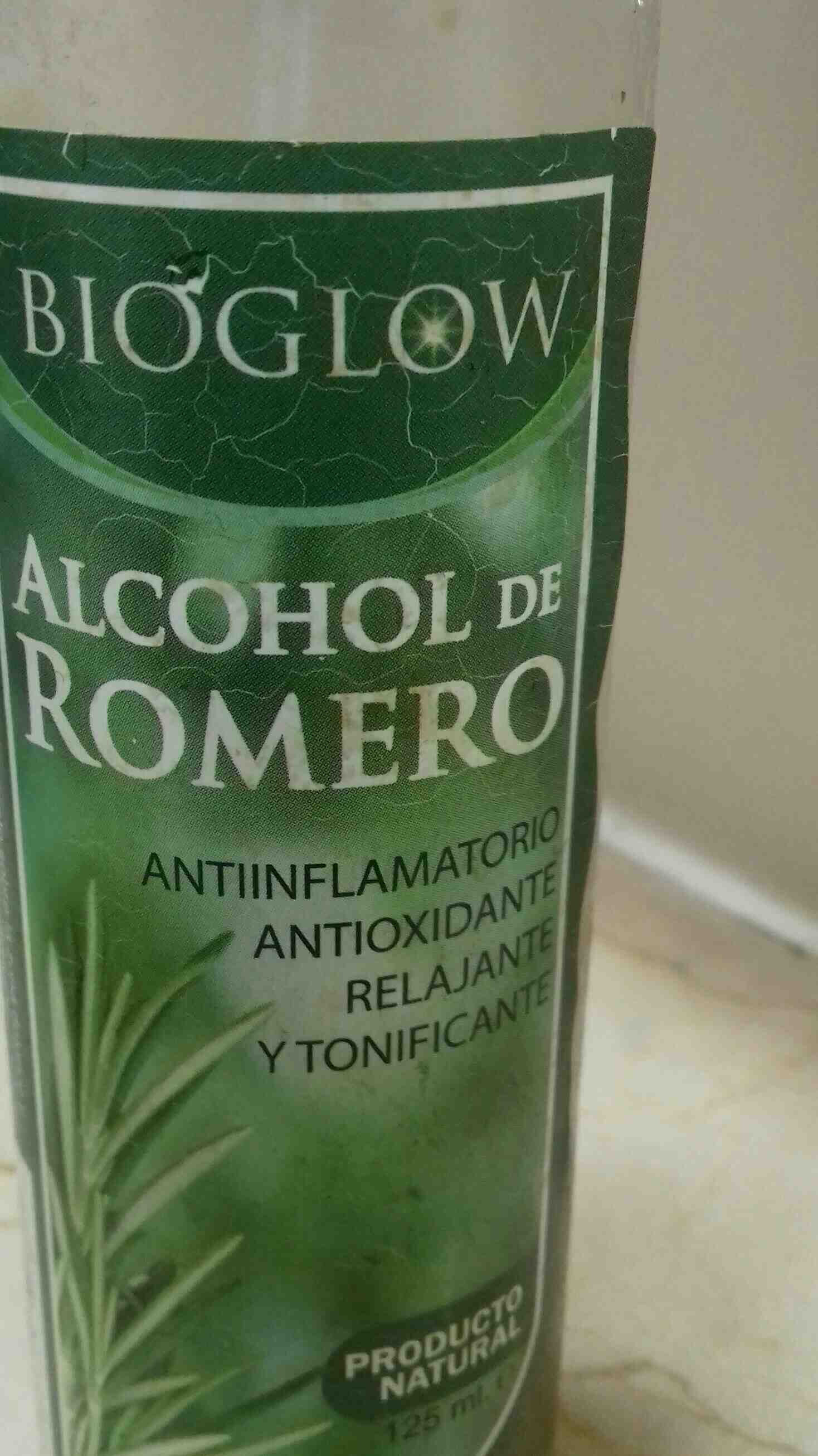 alcohol de romero - Ingredients - en