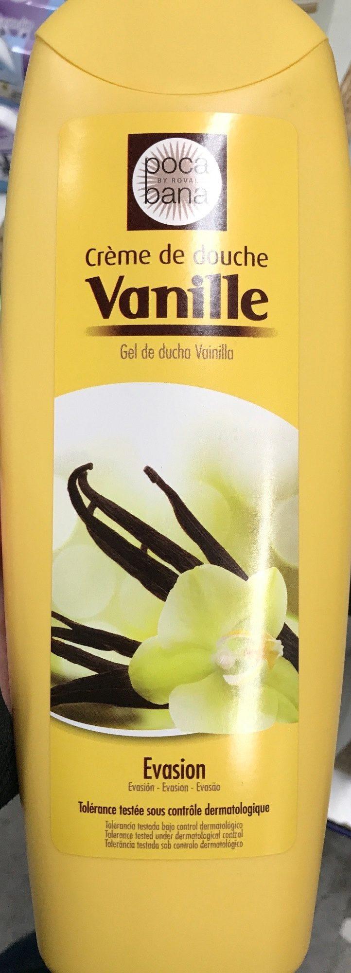 Crème de douche vanille Evasion - Product - fr