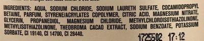 Crème de douche Cacao Gourmandise - Ingrédients - fr