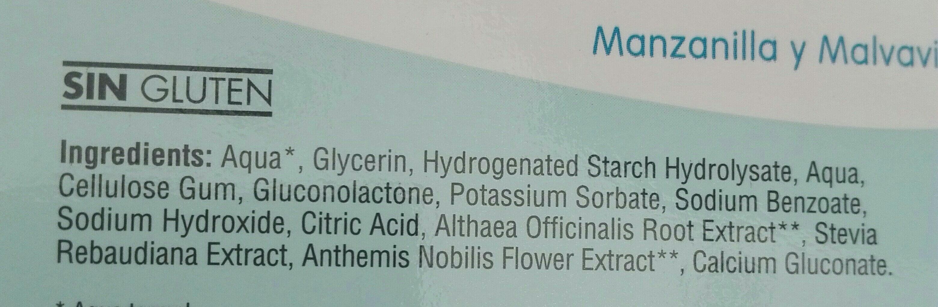 Bebé bálsamo gingival - Ingredients - es