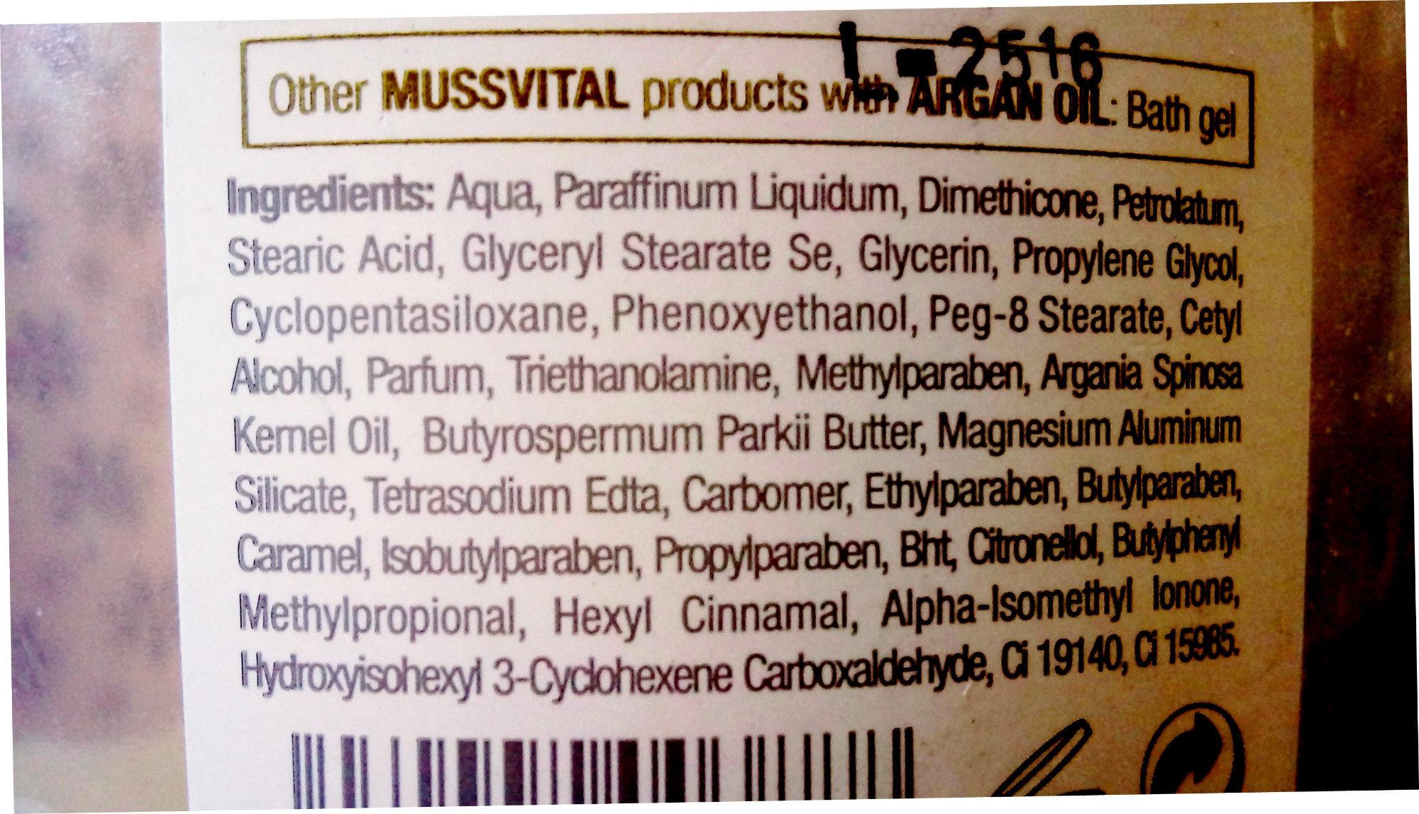 Body Milk - Ingredients - en