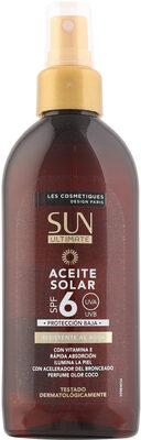 Aceite solar coco spf6 sun ultimate pistola - Product - es