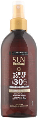 Aceite seco solar coco spf20 sun ultimate spray - Product - es
