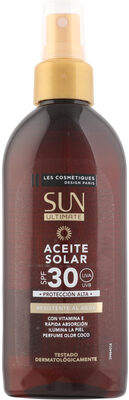 Aceite solar coco spf30 sun ultimate spray - Product - es