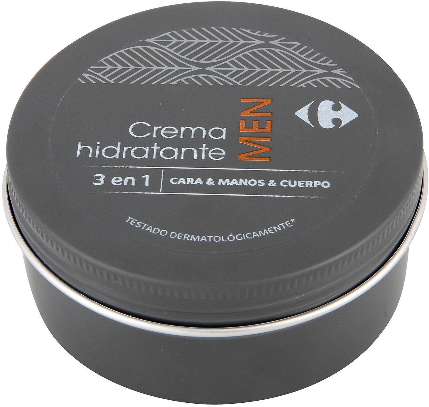 Crema manos cara cuerpo men crf - Product - es