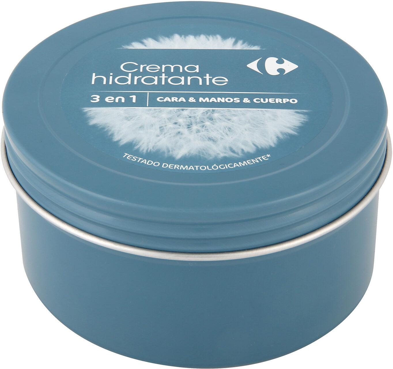 Crema manos cara cuerpo lata - Product - es