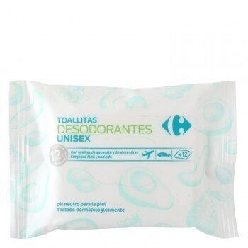 Toallitas desodorantes crf x12 - Product - es
