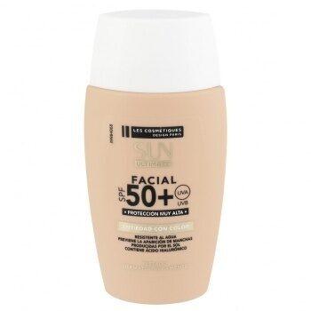Protector solar facial antiedad color spf 50+ sun ultimate - Product - es