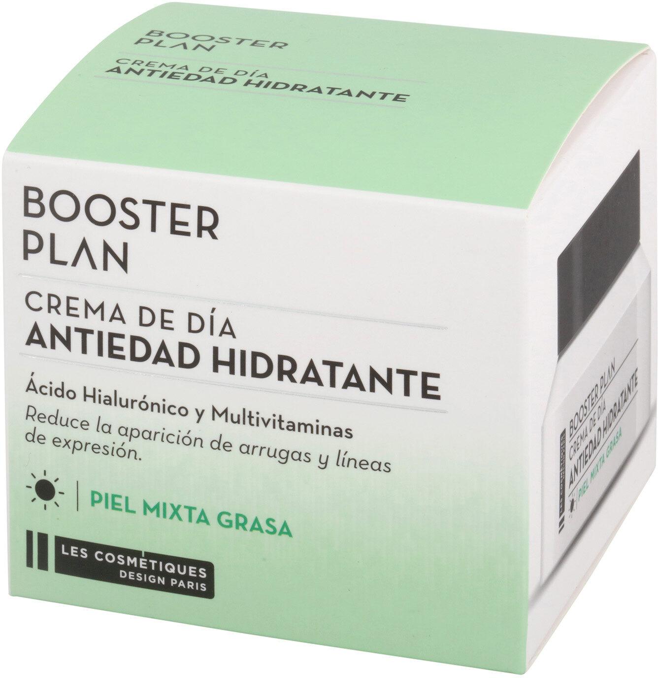Crema antiedad de día para piel mixta y grasa booster plan - Product - es