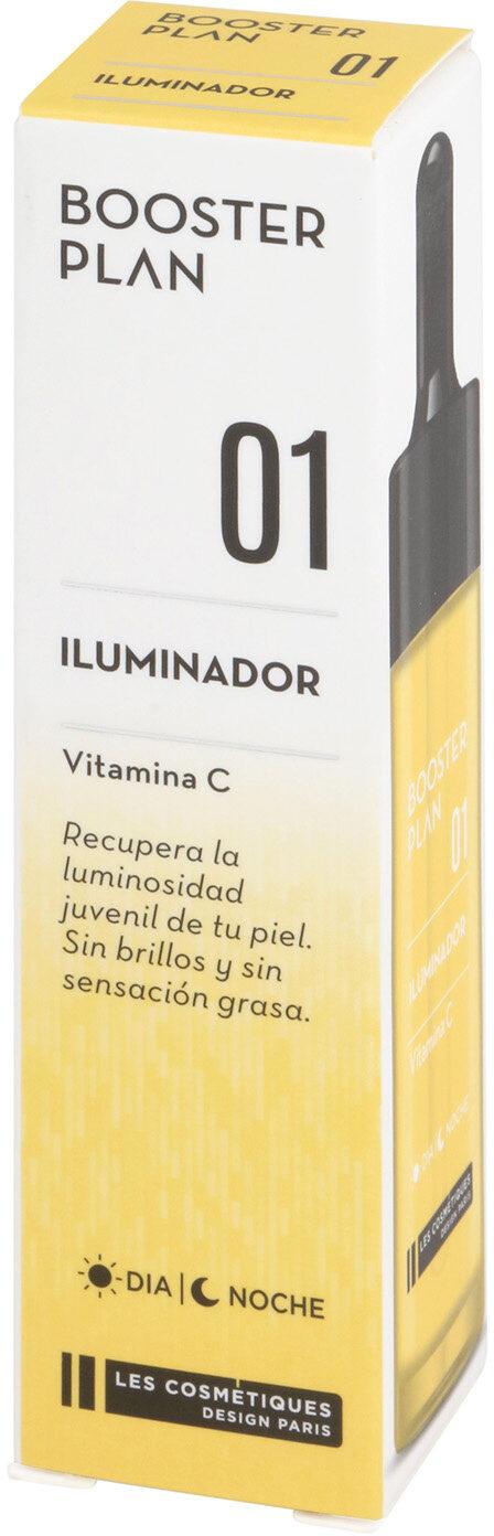 Booster iluminador les cosmetiques nº1 booster plan - Product - es