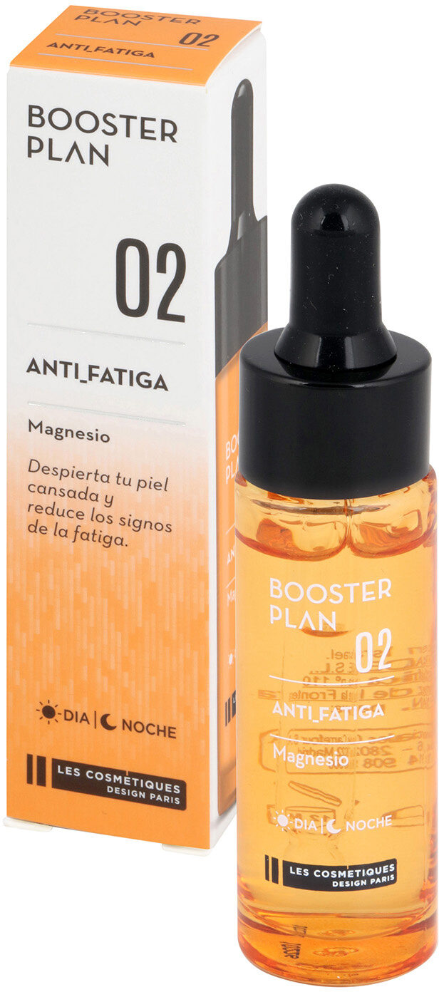 Booster antifatiga les cosmetiques nº2 booster plan - Product - es