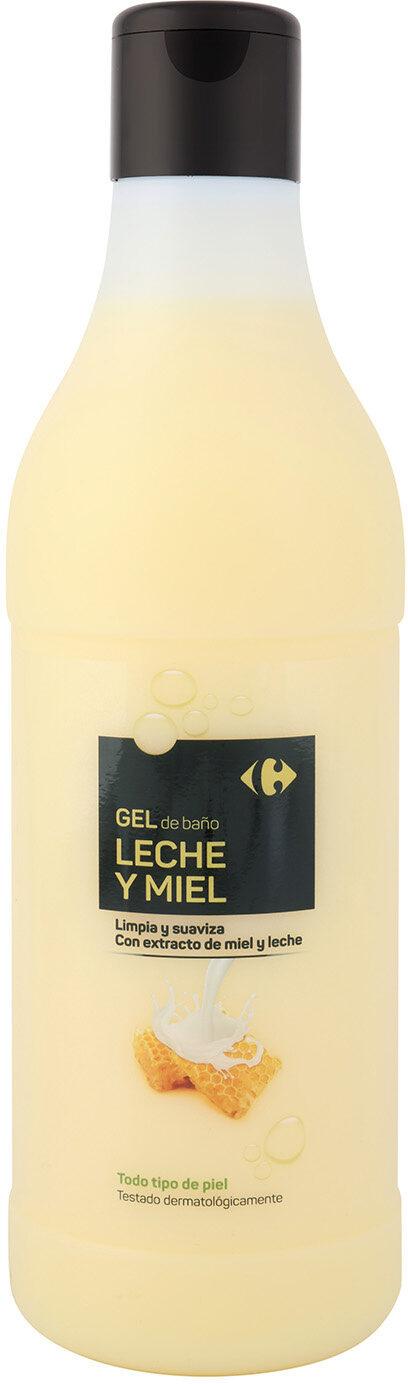 Gel de baño leche y miel - Product - es