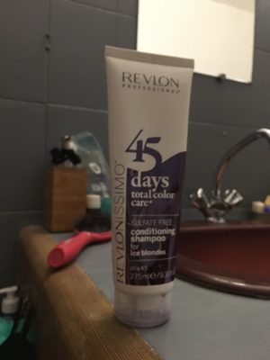 45 days total color care for ice blondes - Product