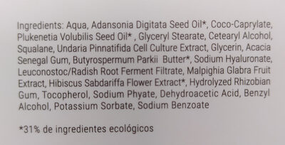 Contorno de ojos - Ingredients - es